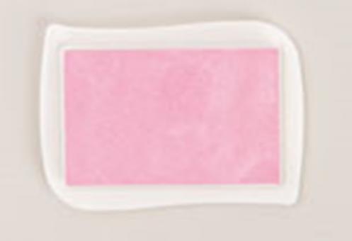 Textil Stempelkissen, Rosa