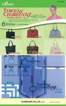 Taschen-Schablonen City Bag, Mancy Ziemann Clover