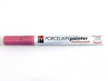 Porcelain Painter rosa  033, 1-2 mm Spitze, hochglänzend