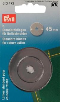 Prym Ersatzklingen Rollschneider 45 mm  3