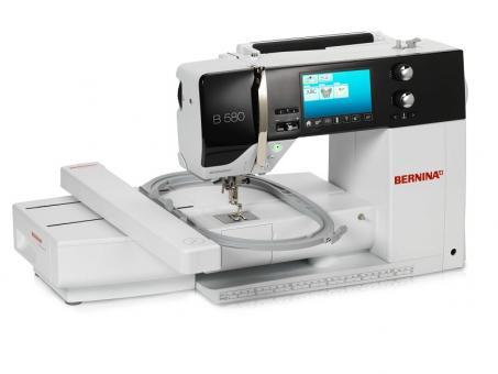 Bernina 580+Strickmodul DE Nähmaschine 220/230V