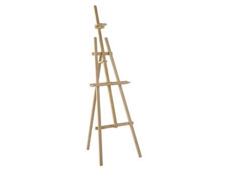 Atelierstaffelei Bausatz Vega, 135cm aus Fichtenholz, zur Selbstmontage