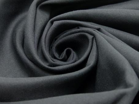 Baumwoll-Fahnentuch schwarz, Breite 150cm