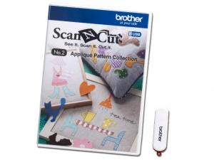 ScanNCut Designs Nr. 2 Applikationsmuster-Sammlung