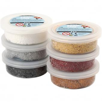 Foam Clay Sortiment Metallic 6 Dosen a 14g