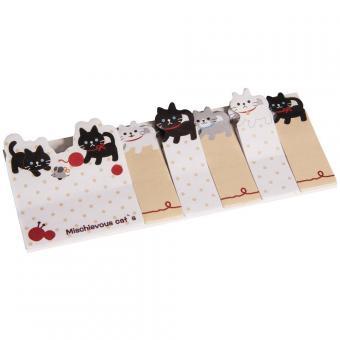 Memo-Stickers : Katzen