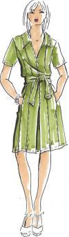 Schnittmuster Damen Kleid Arianna Größe 34-50