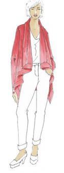 Schnittmuster Damen Jacke Giselle Größe 34-50