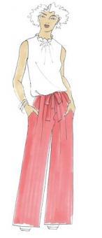 Schnittmuster Damen Hose Kira Größe 34-50