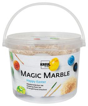 Magic Marble Mamorierfarben Set Happy Easter