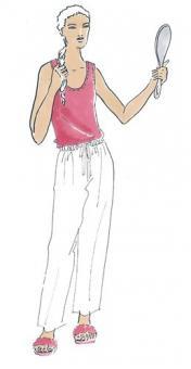 Schnittmuster Damen T-Shirt Diana Größe 34