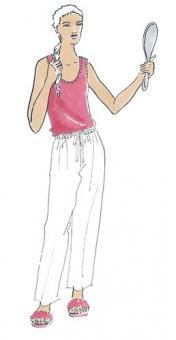 Schnittmuster Damen T-Shirt Diana Größe 48