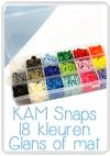 KAM Snaps Box, 18x25 Stück sortiert 2 Sets