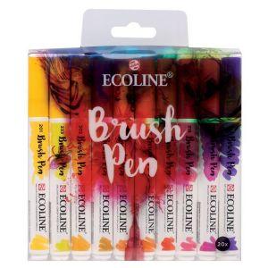 Ecoline Brush Pen Set, 20 Stifte