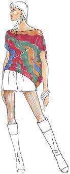 Schnittmuster Damen Bluse Bea Größe 34-50