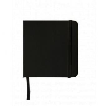 Sketch Book, 12x12cm schwarz 160g/m²    80 Blatt