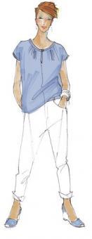 Schnittmuster Damen Shirt Marlene Größe 34-50