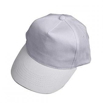 Baseball-Cap, Größe 49,5-56, weiß