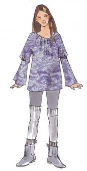 Schnittmuster Shirt Nomi-Kids Gr. 116-152