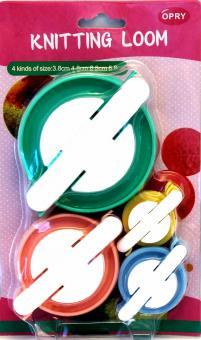 Opry Pom Pom Maker Set 3,8 x 4,8 x 6,8 x 8,8cm