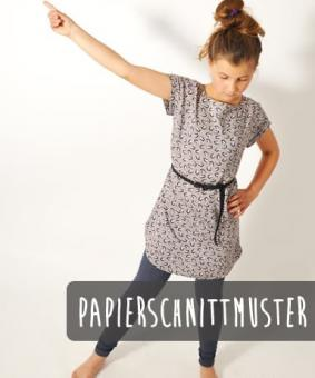 Sommer.bluse4Teenies Leni Pepunkt