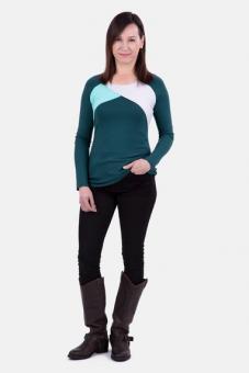 Schnittmuster Damenshirt Mellie by pattydoo, Größe 32-48