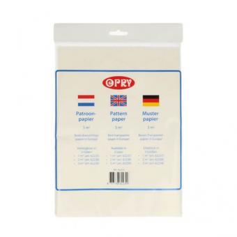 Opry Schnittmusterpapier 3m² transparent