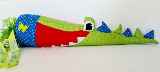 Schultüte Krokodil, Nähset