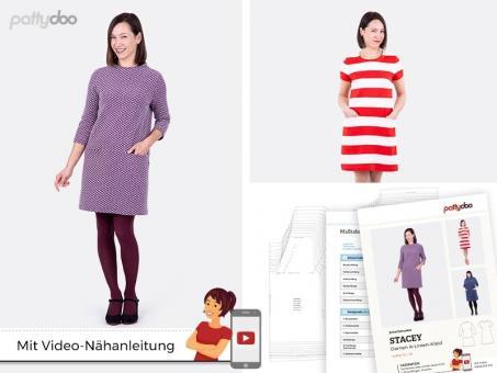 Schnittmuster Damen A-Linien-Kleid by pattydoo, Größe 32-54