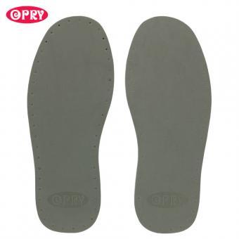 Opry Schuhsohlen Paar 25,5cm, grau Farbe 02, Gr. 39/40