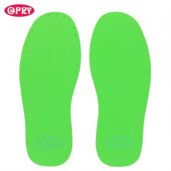 Opry Schuhsohlen Paar 25,5cm, grün Farbe 05, Gr. 39/40