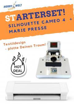 Silhouette Cameo 4  + Marie Presse Schneideplotter
