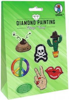 Diamond Painting Sticker Funny Motiv 03