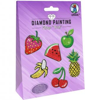 Diamond Painting Sticker Fruits Motiv 04