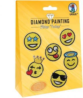 Diamond Painting Sticker Smileys Friend, Motiv 06