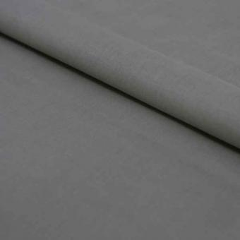 Baumwollstoff uni silbergrau Breite 150cm