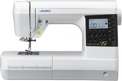 Juki HZL-G120B Computer Nähmaschine mit 180 Stichen u.8 auto.Knopfloch