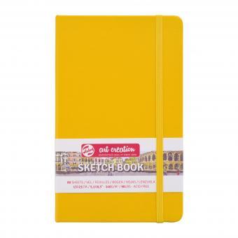 Skizzenbuch Golden Yellow, 13 x 21cm 140g/m², 80 Blätter