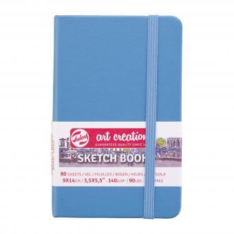 Skizzenbuch Lake Blue, 9x14cm 140g/m², 80 Blätter