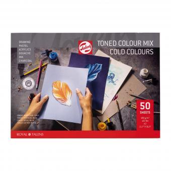 Toned Paper mix kalt, A3, 180g/m², 50 Blätter