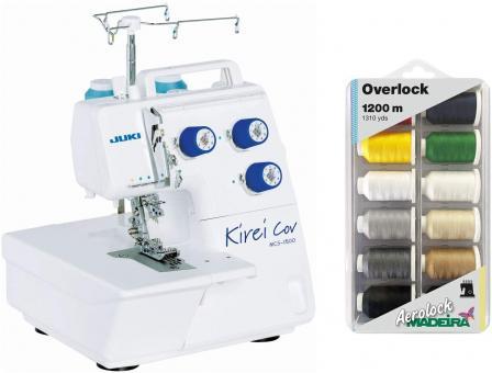Nähmaschine Juki Cover MCS1800 Kirei Coverlockmaschine