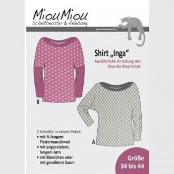 Papierschnittmuster Inja Miou Miou Shirt