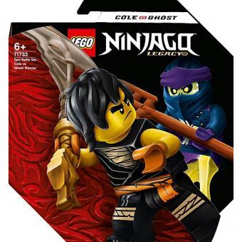 Lego Ninjago Slim Cole  Battle Set