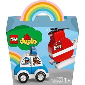 Lego Duplo Feuerwehr, Hubschrauber und Polizei