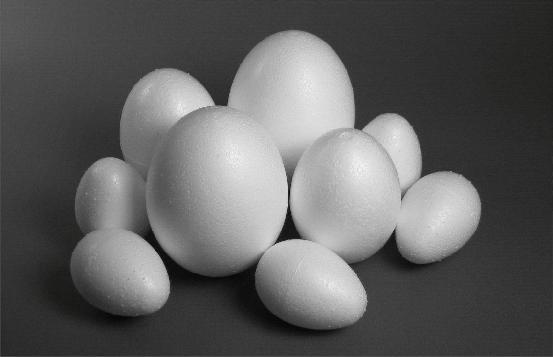 Hobbywelt Kreativshop Styropor Eier 60mm 8er Set Basteln Und Nahen