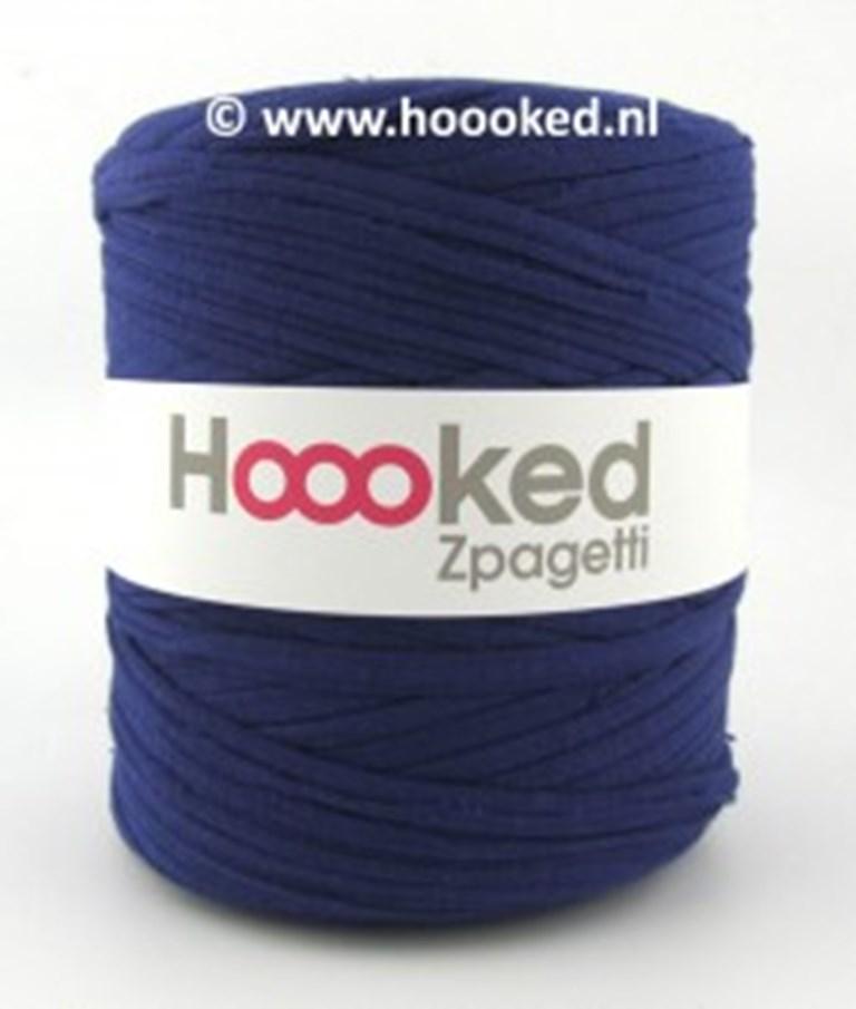 Hobbywelt Kreativshop Hoooked Zpagetti Preusisch Blau 121 M