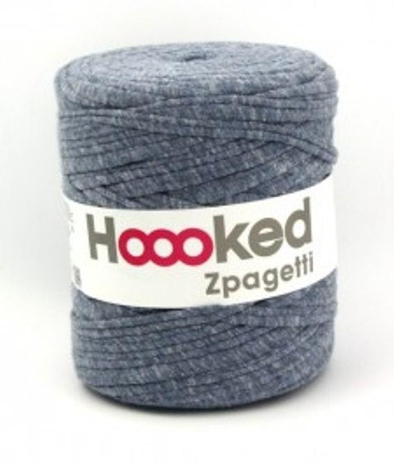 Hobbywelt Kreativshop Hoooked Zpagetti Grau Mel 120 M Waschbar