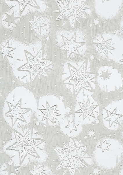 hobbywelt kreativshop creapop deko stoff 29 cm organza schneesterne wei basteln und n hen. Black Bedroom Furniture Sets. Home Design Ideas