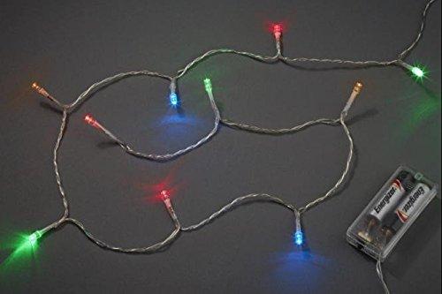 Hobbywelt Kreativshop Creapop Batterie Led Lichterkette 10 Tlg