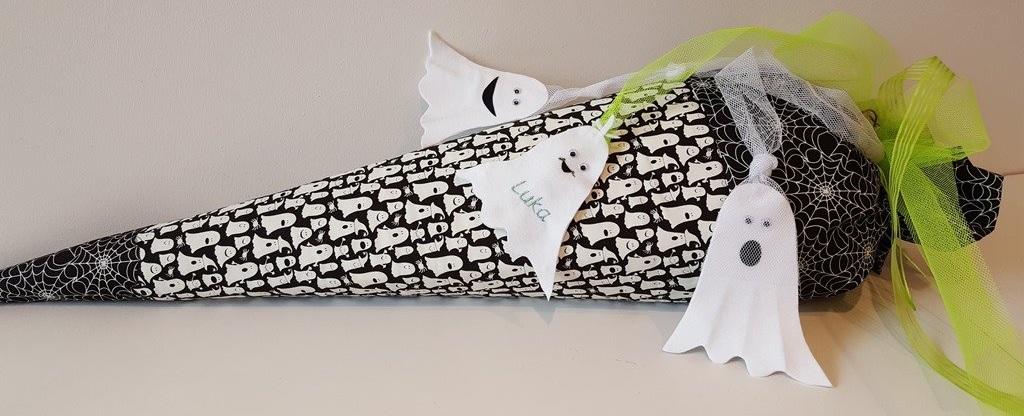 Hobbywelt Kreativshop Schultüte Kleines Schulgespenst Nähset Mit Nachleuchtendem Stoff Basteln Und Nähen